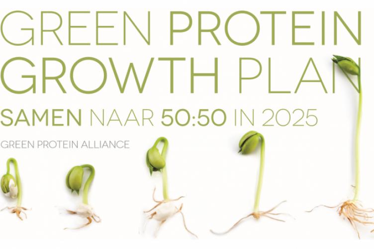 50-50 verdeling eiwitten Green Protein Alliance
