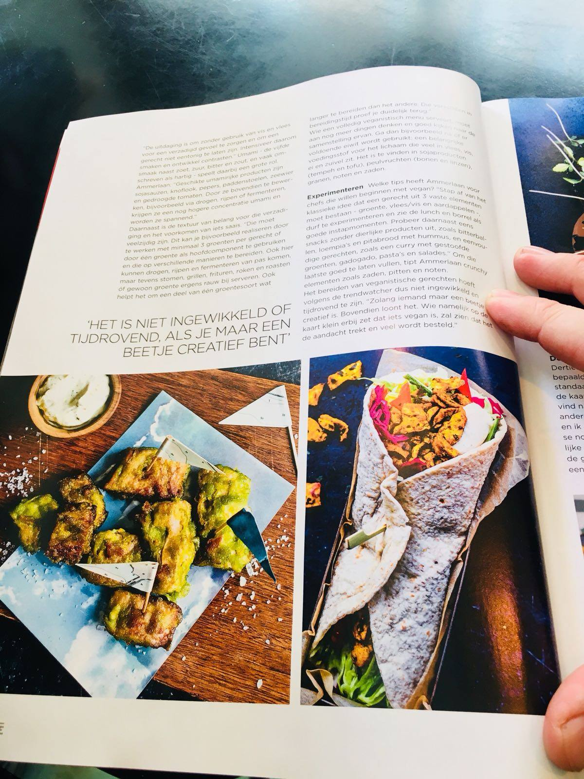 The Dutch Weed Burger in Entree Magazine