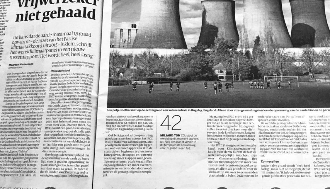 Volkskrant artikel
