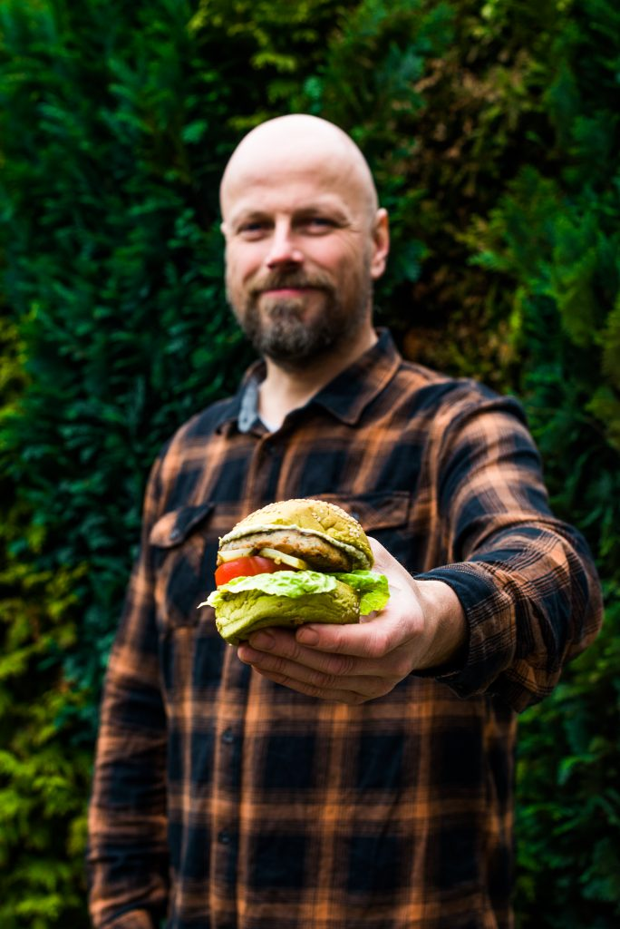 The Dutch Weed Burger + Founder Mark